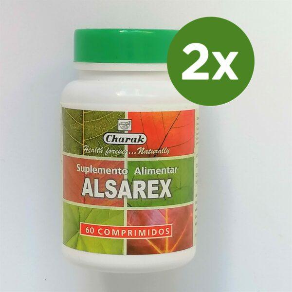 Alsarex pack 2 embalagens