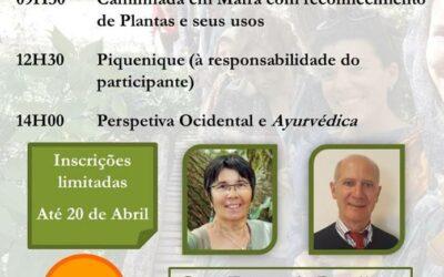 Reconhecimento de Plantas Medicinais – Caminhada em Mafra, 25 de Abril