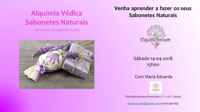 Workshop de sabonetes naturais, Seixal, 14 de Abril, 15h-19h
