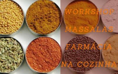 WORKSHOP 'Massalas – Farmácia na Cozinha' – Leiria, 5 de Maio, 9h-13h