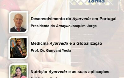 Palestras sobre Ayurveda – Faculdade de Letras da Universidade de Lisboa