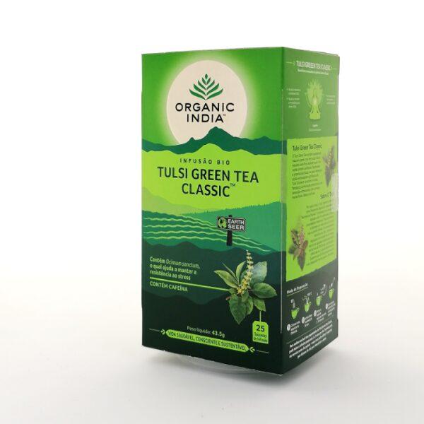 Infusão Bio Tulsi Green Tea Classic Organic India