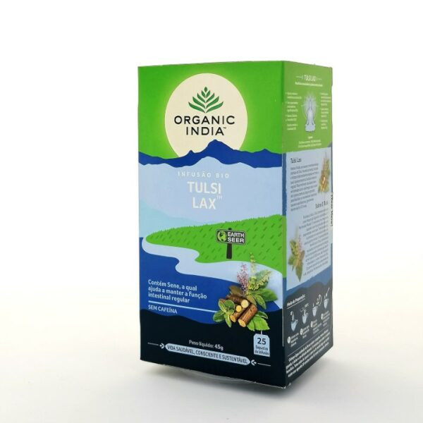 Infusão Bio Tulsi Lax Organic India