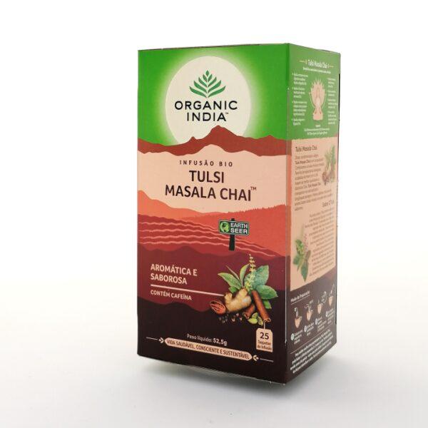 Infusão Bio Tulsi Masala Chai Organic India