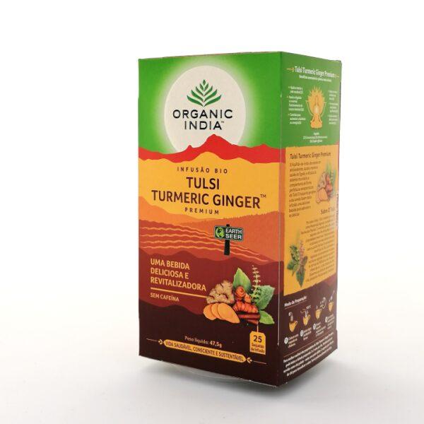 Infusão Bio Tulsi Turmeric Ginger