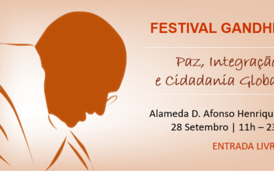 Festival Gandhi   28 de Setembro   Lisboa