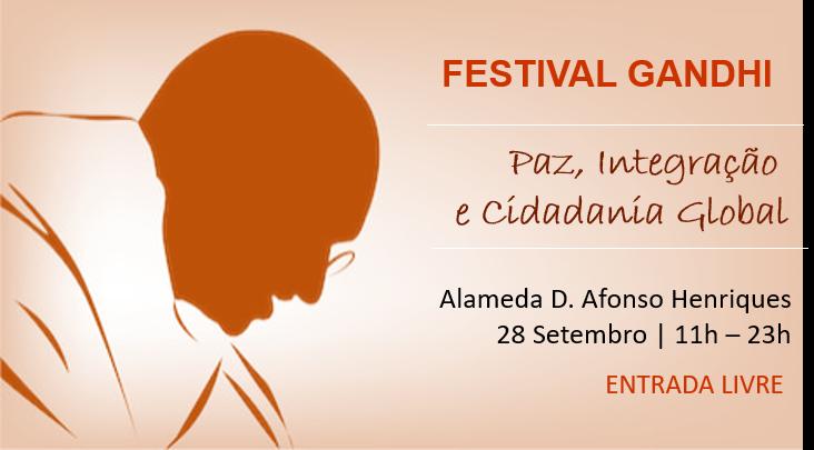 Festival Gandhi | 28 de Setembro | Lisboa