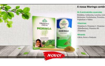 Novos produtos: Moringa em pó