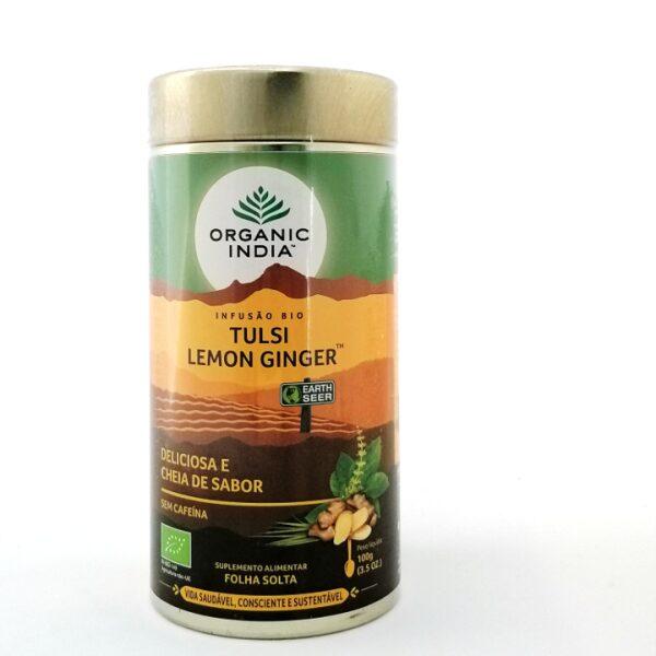 Tulsi Lemon Ginger Bio Organic India