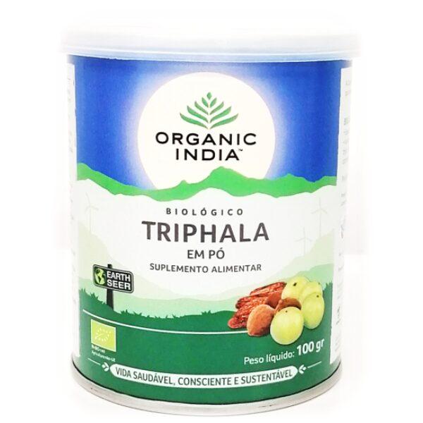 Triphala pó Bio Organic India100 gr